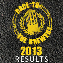 Race to the Brewery 2012 Results