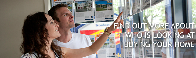 Find out more about who is looking at buying your home